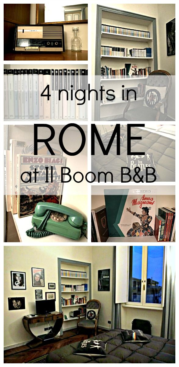 Plan je een reis naar Rome, maar wil je liever niet in het toeristische centrum verblijven? Dan is Trastevere een aanrader. ik verblijf er bij Il Boom B&B. Een review.