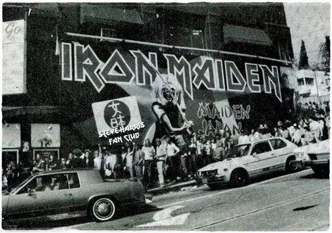 14 de setembro ... Maiden Japan no Whisky a Go Go 35o aniversário Maiden Japan