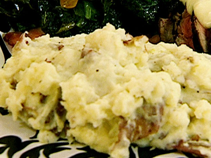 Roasted Garlic Mashed Potatoes- swapping out half and half for milk, and added 1/4 cup parmesan. (note- if using milk, add the whole stick of butter) 4/5 stars