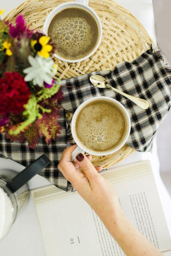 DIY pumpkin spiced latte: