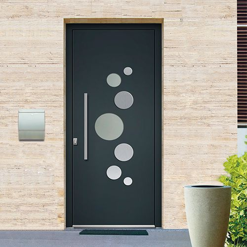 22 best Portes du0027Entrée Aluminium images on Pinterest Budget
