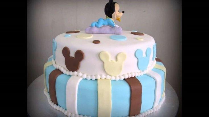 Gâteau d'anniversaire baby Mickey Comment réaliser facilement un gâteau d'anniversaire pour son enfant!