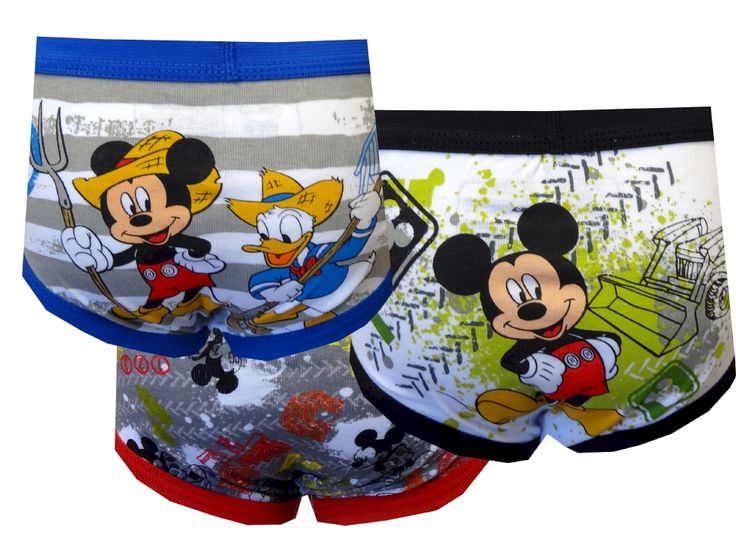 Mickey Mouse Clubhouse Mickey Mouse 3 Pack Toddler Boys Briefs...perfect for when we start potty training!!  www.webundies.com -- need to remember this site