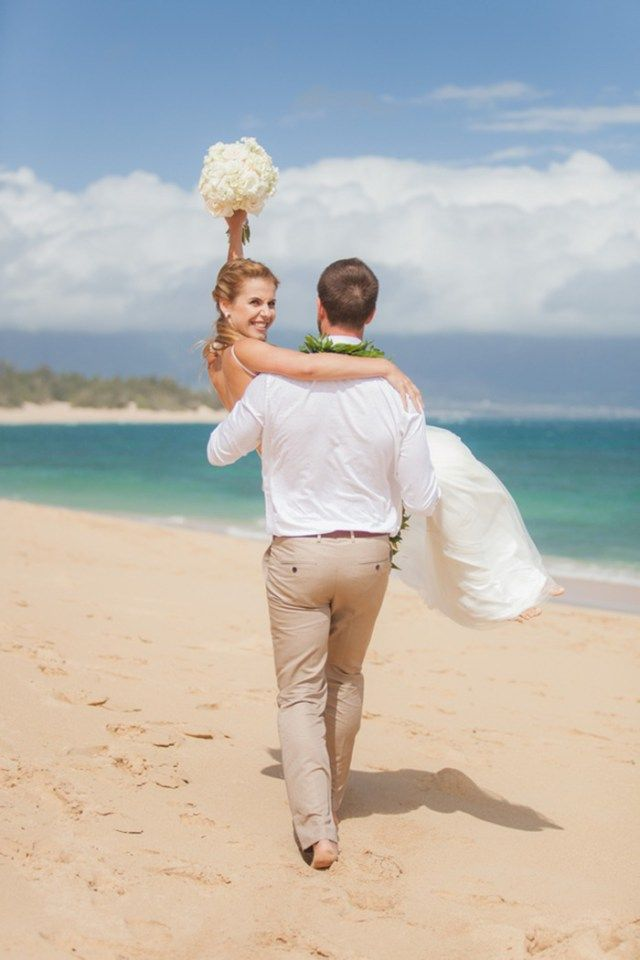A Private Beach Elopement in Hawaii | Julia+Michal | Karma Hill Photography | www.simplyelope.com