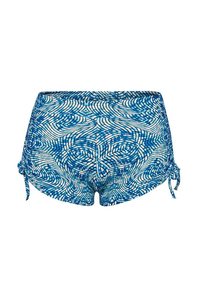 Wave Reflection Printed Shorts – Dharma Bums Yoga and Activewear