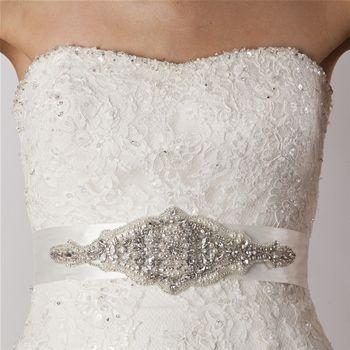 Amy Bridal Sash - Bridal Jewellery - Crystal Bridal Accessories