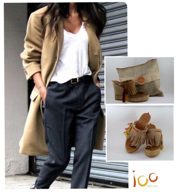 Nos encanta esta sandalia iOO POCAHONTAS, pr su estilo, clase e intemporalidad...
