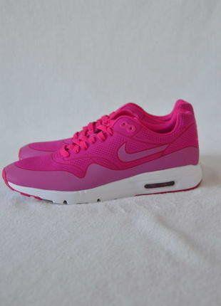 Nike Air Max 1 Ultra Moire WMNS Pink Weiß  Kaufe meinen Artikel bei #Kleiderkreisel http://www.kleiderkreisel.de/damenschuhe/sonstiges/144192922-nike-air-max-1-ultra-moire-wmns-pink-weiss-neu-40-704995-601