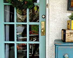Front Door Paint | Tranquil | by The Painted Home