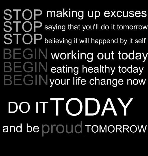 Famous Quotes About Excuses: Best 100+ Exercise Quotes Images On Pinterest