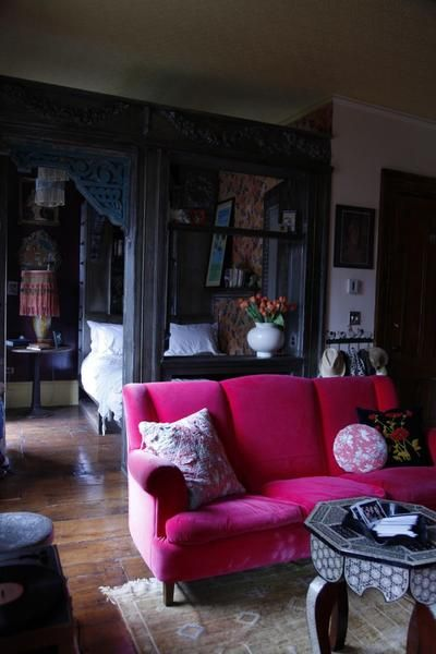Pink Sofa Inspiration from Pinterest! – Moss Cottage