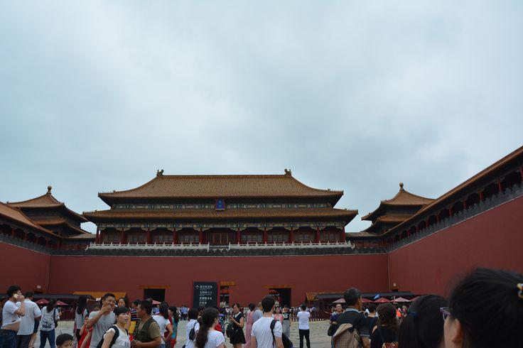 Entrance to the Forbidden city, Beijing, photographer-Tereza večerková