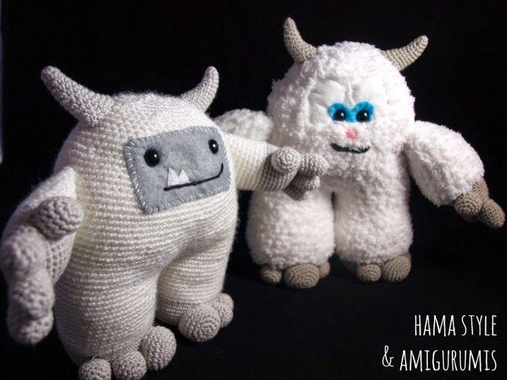 Amigurumi Monster Inc Patrones : 17 mejores imagenes sobre amigurumi monstruos en Pinterest ...