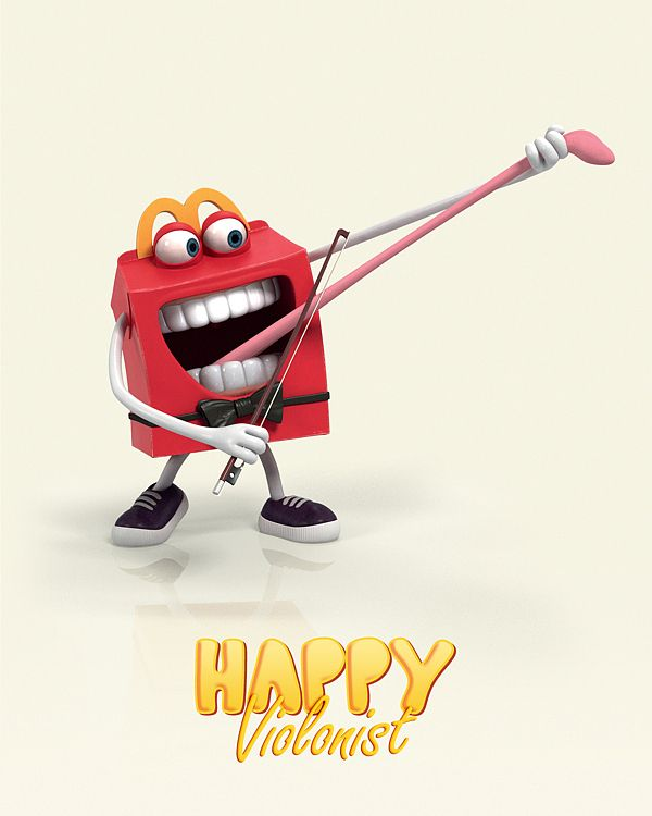 Mc Donalds – Happy Meal Game by Alice Mounoury