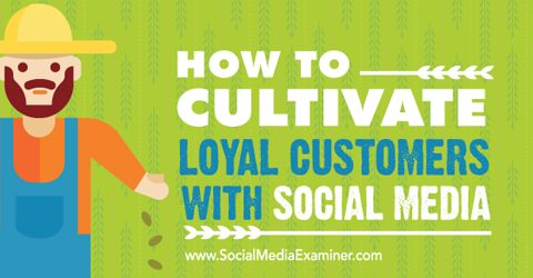 Want long-term customers for your business?  Have you used social media to increase customer loyalty?  To build customer loyalty, you need to show your customers you care.  This article explains how to use social media to embrace and cultivate loyal customers for your business.