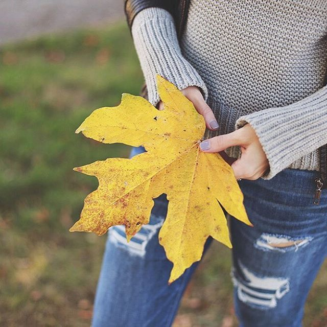 ALL the fall leaves, please!! 🍁 #styleblogger