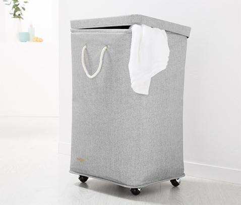 Bestil Vasketøjskurv på hjul online nu hos Tchibo 339635 | Diverse bolig tilbehør | Pinterest ...