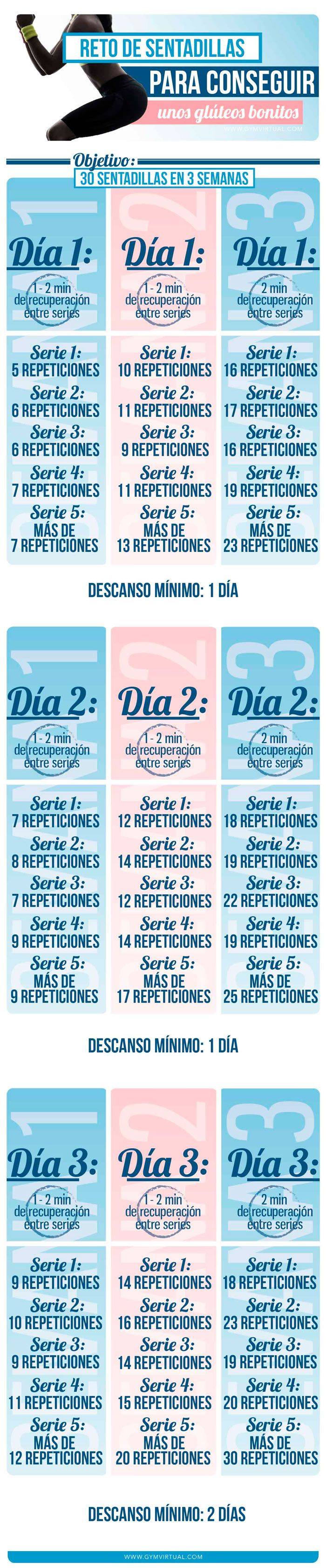 RETO DE SENTADILLAS | GYM VIRTUAL
