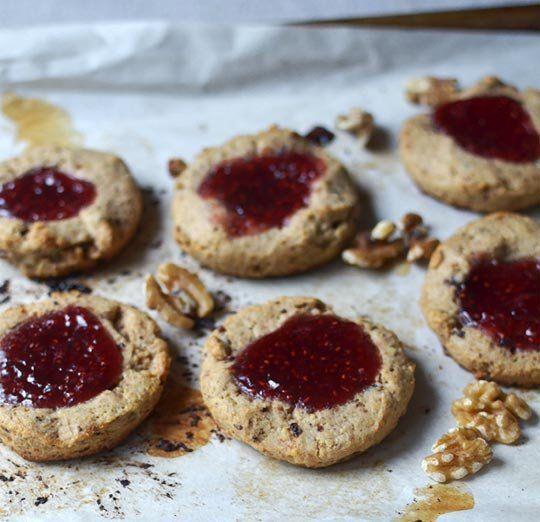 recipe jammy raspberry amp walnut scones recipes from the kitchn