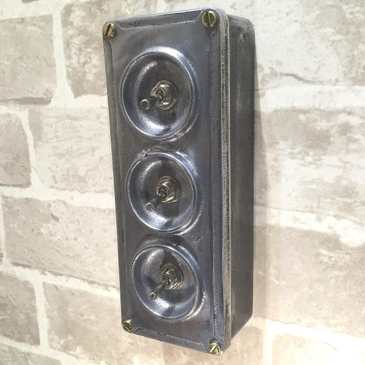 Vintage Industrial Light Switch: 8 Best Industrial Light Switches Images On Pinterest