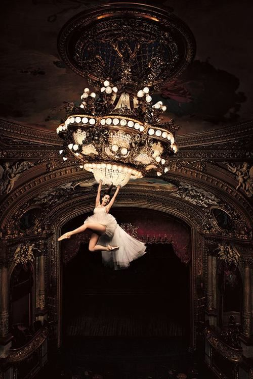 Writing prompt. ...and I ended up swinging from the chandelier!