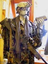"""""""TERYNATA SERAGAM MILITER NATO DIBUAT DI SOLO""""   Weaving and Silk"""