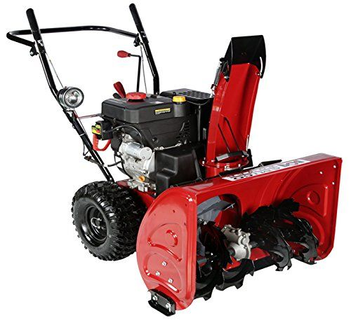 30 inch 302cc Two-Stage Electric Start Gas Snow Blower/Thrower 30-Inch Two Stage, Powerful 302cc Professional Snow Engine and Electric Start. The friction disc transmission gives you the opportunity to choose from among 5 forward and 2 reverse speeds. Easy grip handle mounted power steering trigger for better maneuverability and single hand control. https://homeandgarden.boutiquecloset.com/product/30-inch-302cc-two-stage-electric-start-gas-snow-blower-thrower/