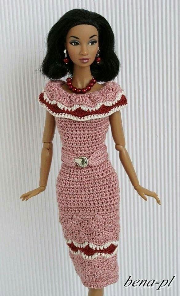 Crochet Patterns Barbie Doll House