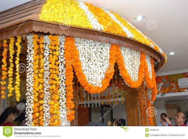 Flower Decorations For Indian Weddings