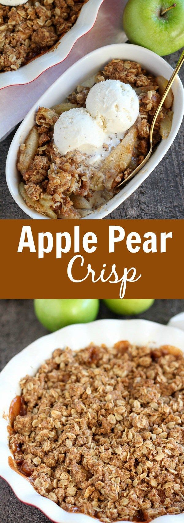1000+ ideas about Apple Pear Crisp on Pinterest | Pear ...