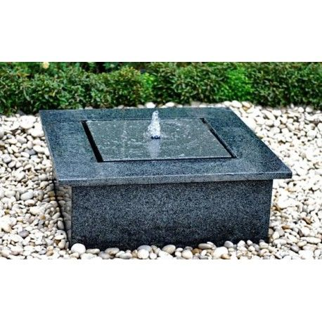 Reims waterpartij 110x110 cm en 30cm hoog waterornament for Waterornament tuin