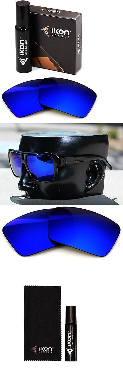 Sunglass Lens Replacements 179195: Polarized Ikon Replacement Lenses For Dragon The Jam Sunglasses Deep Blue Mirror -> BUY IT NOW ONLY: $36 on eBay!