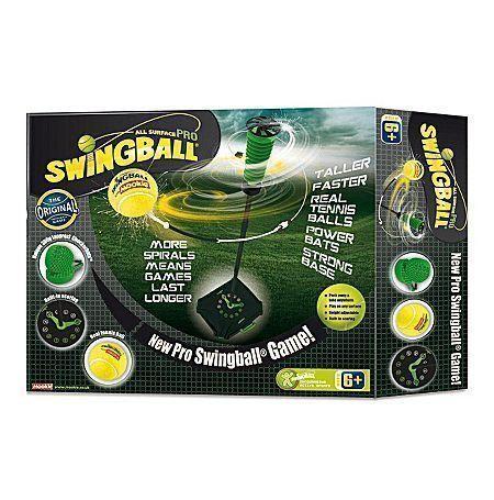 Веселый теннис Swingball это отличный способ развивать зрительно-моторную координацию.Он идеально подходит для детей старшего возраста и взрослых, а также позволит наслаждаться ударами на полную силу по настоящему теннисному мячу.В Swingball теннис можно играть практически в любом месте и на любой поверхности, будь то трава, бетон или песок.Просто необходимо наполнить подставку водой или песком для устойчивости и все готово для игры.В игру Pro Swingball Веселый теннис может играть два ...