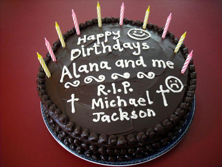 R.I.P. Michael Jackson Cake   Flickr - Photo Sharing!