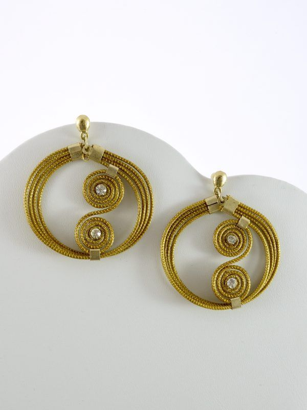 Capim Dourado (Golden Grass) Large Hoop Earrings  #goldengrass #brazil #sustainablefashion #jewelry #ecofriendly #handmade #handmadejewelry #brazilian #handcrafted #earrings