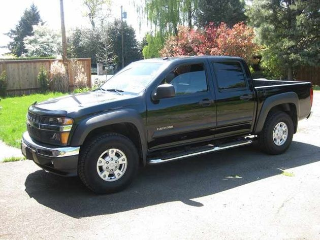 used chevy colorado for sale