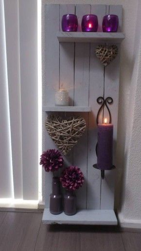 DIY, mooi voorbeeld van wat je met pallethout kan maken
