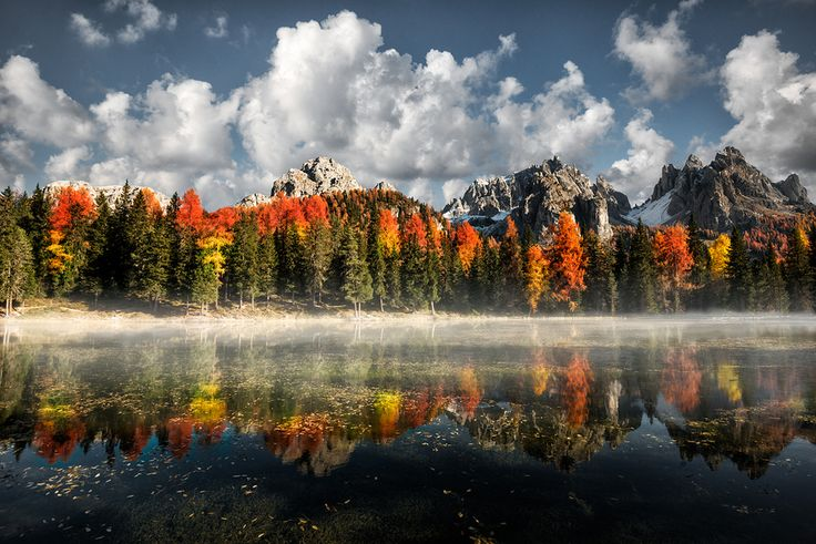 Misurina Antorno Lake, Dolomiti by Marco Carmassi