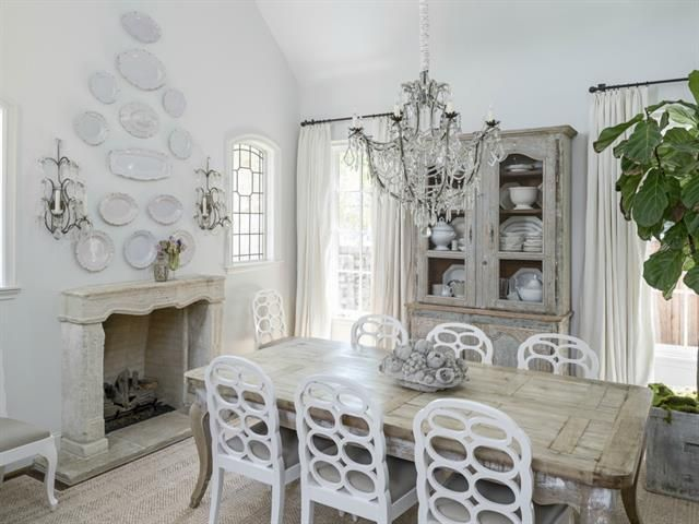 the plates on the wall - Lisa Luby Ryan's House for Sale