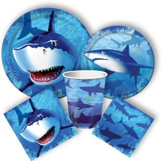 Shark Tableware for your Shark Party!
