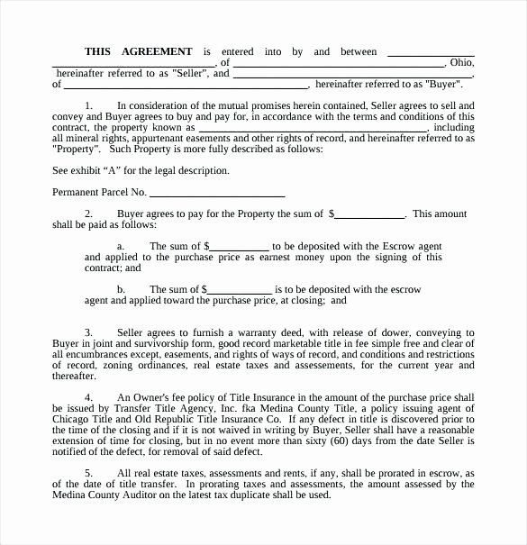 Simple Buy Sell Agreement Form In 2020 Contract Template Word