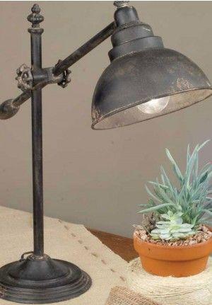Farmhouse desk lamp, farmhouse adjustable desk lamp, farmhouse swing lamp