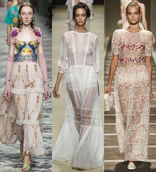 Spring/Summer 2016 Trend: Boho Dresses