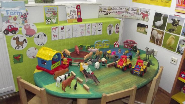 Farm Area for School Years@ Acorns Nursery Bucharest