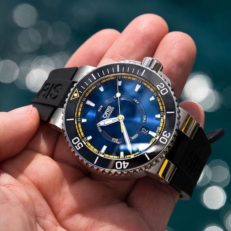 New 2016 limited edition Oris Great Barrier Reef mark II Photo by @calibreimage #Wwatches by w.watches