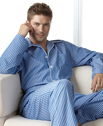 $36 Polo Ralph Lauren Men's Pajamas, Manhattan Striped Pants - Mens Pajamas & Robes - Macy's
