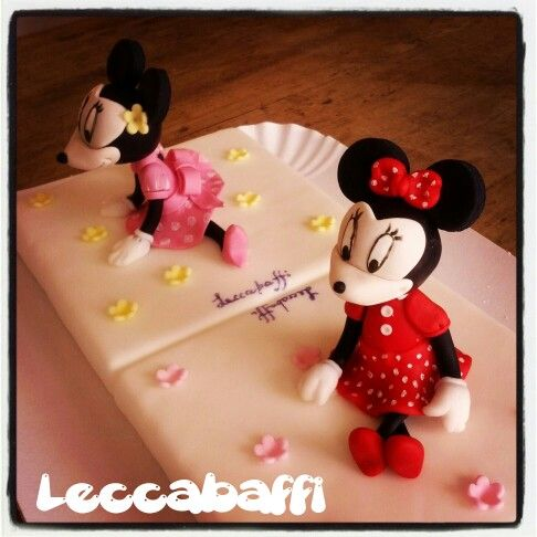 Minnie cake toppers