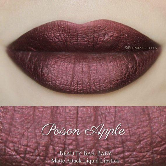 Poison Apple vloeibare Lipstick mat Metallic vloeibare