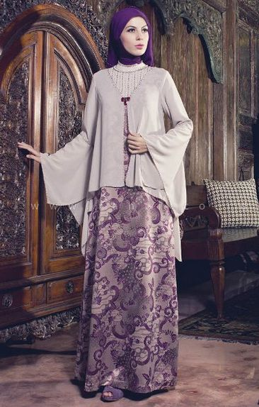 52 Best Gamis Batik Images On Pinterest Hijab Styles