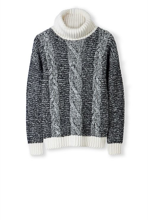 Twist Cable Knit